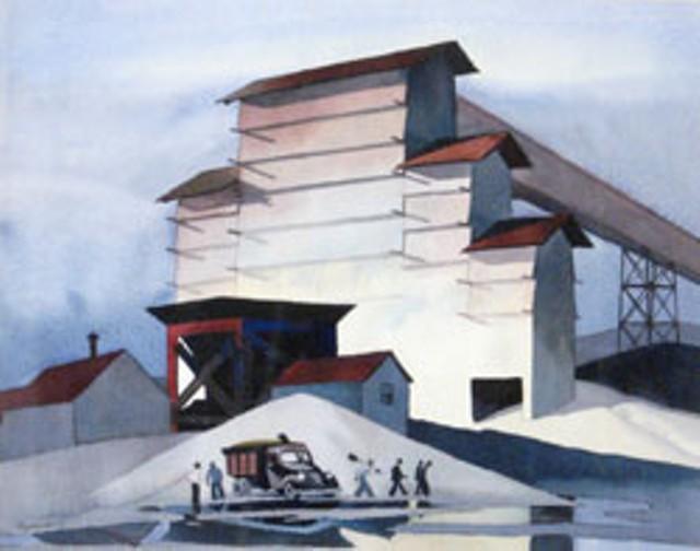 """""""Mill"""" by Walton Blodgett"""