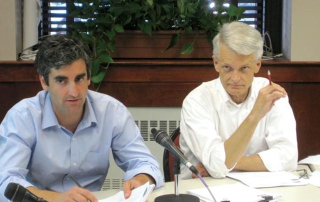 Miro Weinberger, left