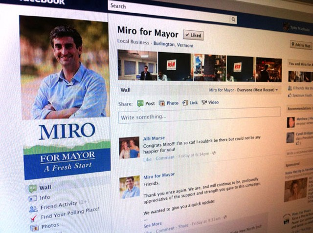 Miro Weinberger's Facebook page
