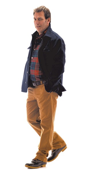 Model: Ken Picard - MATTHEW THORSEN