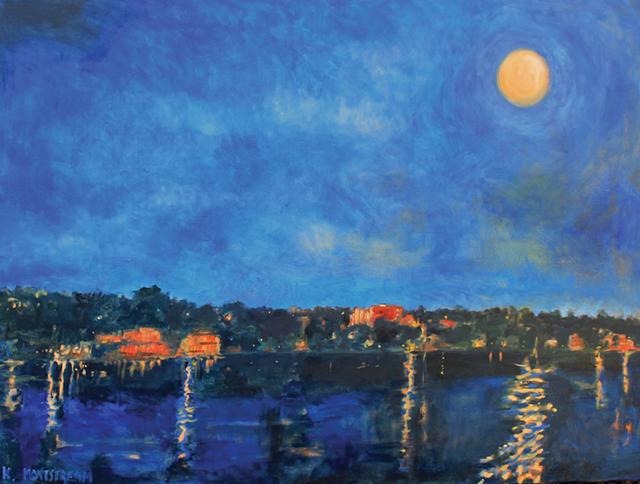"""Moonrise"" by Katharine Montstream"