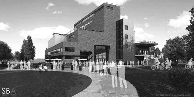 Moran's proposed redevelopment plan