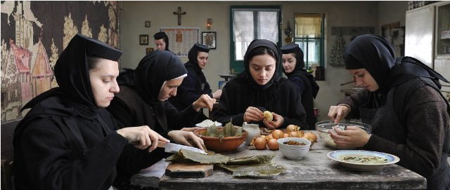 Inside the convent. - IFC FILMS