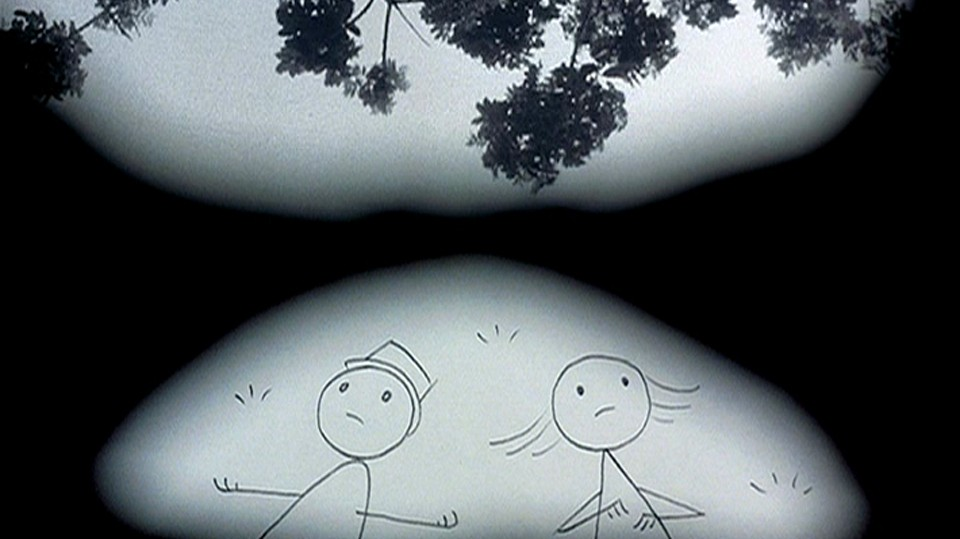 Bill and his ex contemplate life, death and everything. - © 2012 DON HERTZFELDT