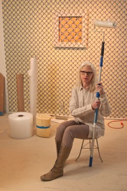 Nancy Dwyer in her studio - MATTHEW THORSEN