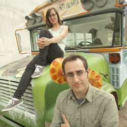 Natalie Miller and Nathan Hartswick