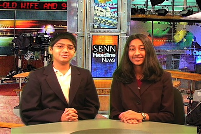 Neel Desai and Riya Patel