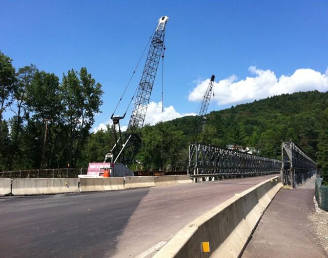New bridge over the White River