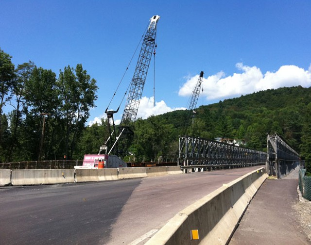 New bridge over the White River