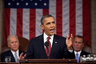 President Barack Obama delivers the 2012 State of the Union address. - COURTESY: WIKIMEDIA COMMONS