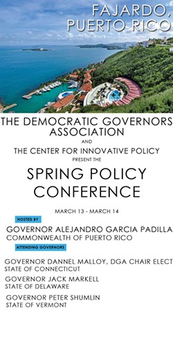 Invitation to the Democratic Governors Association's Spring Policy Conference - DEMOCRATIC GOVERNORS ASSOCIATION