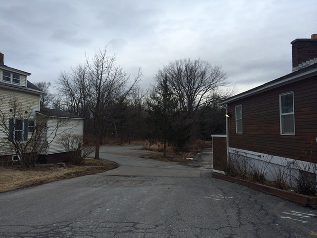 View of the property from Colchester Avenue - ALICIA FREESE