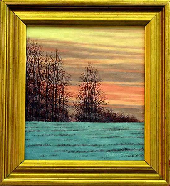 """New Year's Day, Shelburne, VT"" by Robert Huntoon"