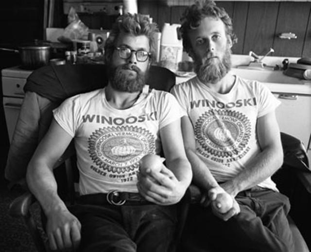 Nick and George