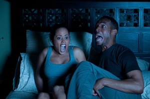 NOCTURNAL COMMISSIONS Wayans and Atkins display the appropriate response to paranormal activity in this unnecessary spoof.