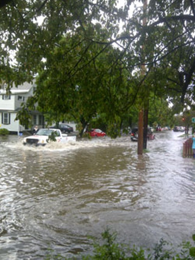 North Willard Street in Burlington on May 22
