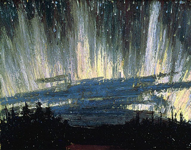 """Northern Lights"" by Tom Thomson (1877-1917)"