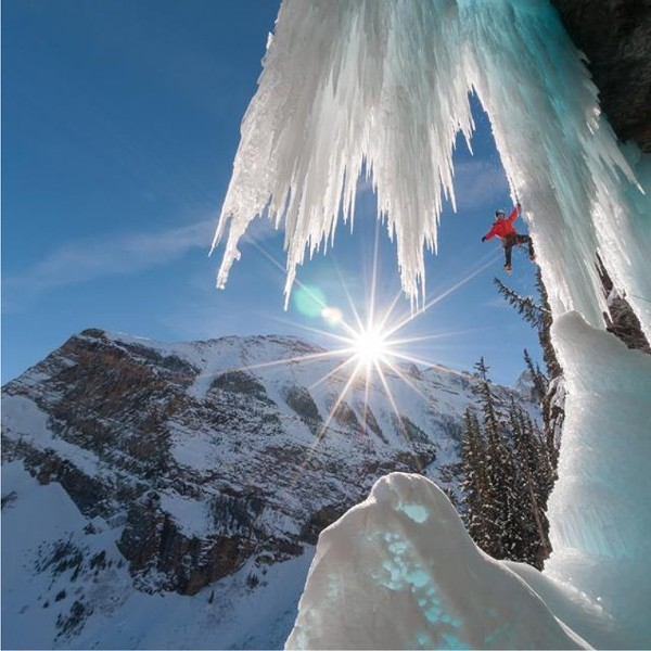 Now that's some serious winter. - COURTESY OF THE BANFF MOUNTAIN FILM FESTIVAL