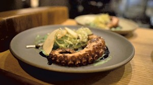 Octopus with apple salad - COURTESY OF CAT AROUND FILMS