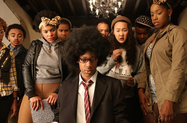 Odd man out: Race isn't the only dividing factor in Simien's college comedy of manners.