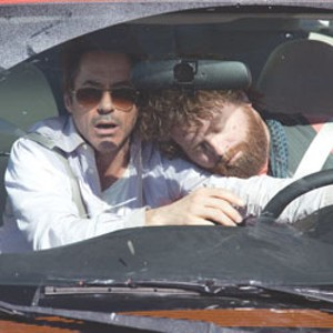 ON THE ROAD AGAIN Downey and Galifianakis are paired in Phillips' latest cross-country comedy.