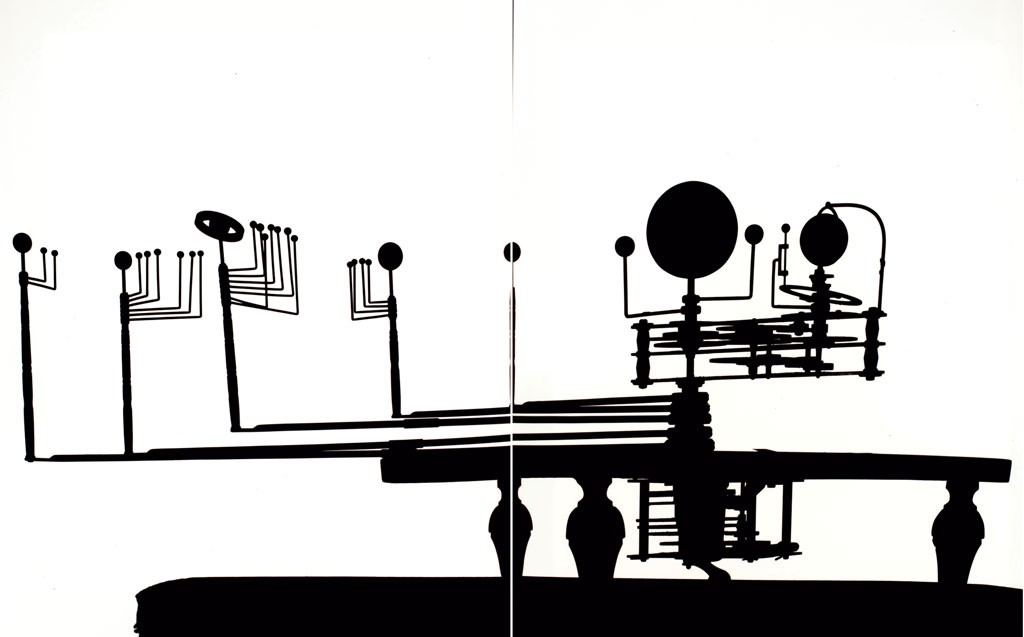 """""""Orrery of 8 planets, built by Newton and Company, London, mid-nineteenth century"""" - COURTESY OF SCIENCE MUSEUM GROUP"""