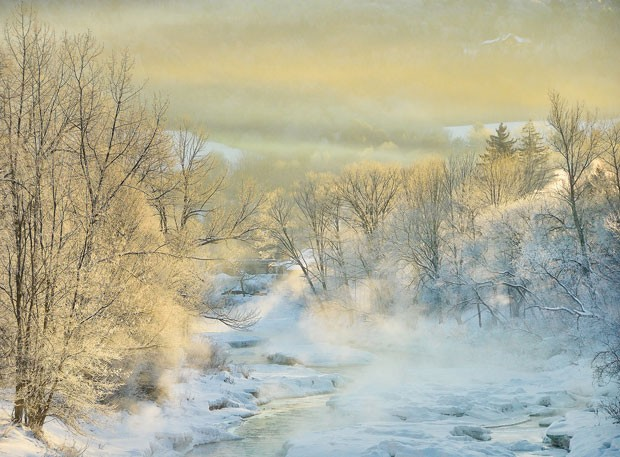 Ottauquechee River in Woodstock - KEVIN ARMSTRONG