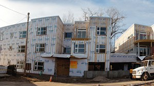 """Packard Lofts Rising: On Burlington's Lakeview Terrace, """"In-Fill"""" Housing Leads to Ill Feeling"""
