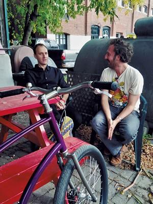 Paul Budnitz and Ryan Miller - PHOTOS: COURTESY OF VERMONT PBS