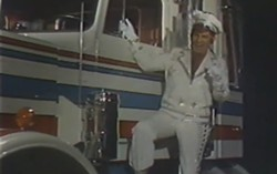 Paul Lynde as a bespangled truck driver.