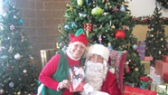 Former Wrestler Paul Vachon Makes a Strong Santa