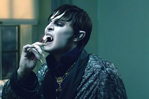PEARLY BITES Depp plays an 18th-century-born vampire discovering the joys of dental hygiene in Burton's latest gothic extravaganza.