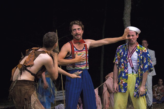 Performers of the Vermont Shakespeare Company
