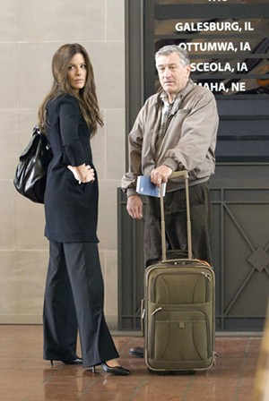 PERSONAL BAGGAGE De Niro plays a widower who finds that past mistakes complicate reconnection with his children.
