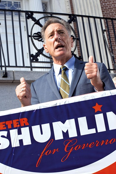 Peter Shumlin - MATTHEW THORSEN