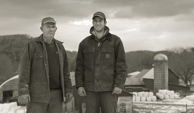 Photo by Skye Chalmers, Courtesy of Cabot Creamery Collective - PAUL AND BRYAN DOTON, DOTON FARM, BARNARD