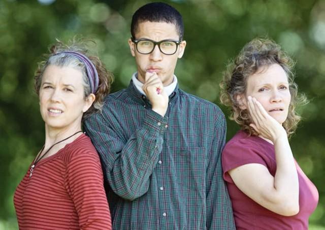 Phyllis, Joyce and Jared in Body Awareness