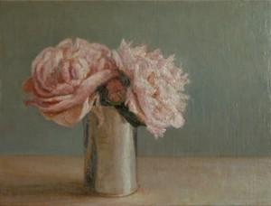"COURTESY OF TAD SPURGEON - ""Pink Peonies"""