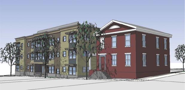 Plan for BHA housing at 30 King Street