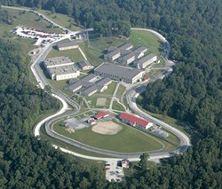 Lee Adjustment Center in Beattyville, Ky., holds 340 Vermont inmates. - VERMONT DOC