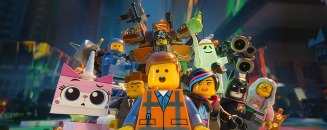 PLASTIC FANTASTIC Bricks aren't just for kids in Lord and Miller's spot-on animated spoof.