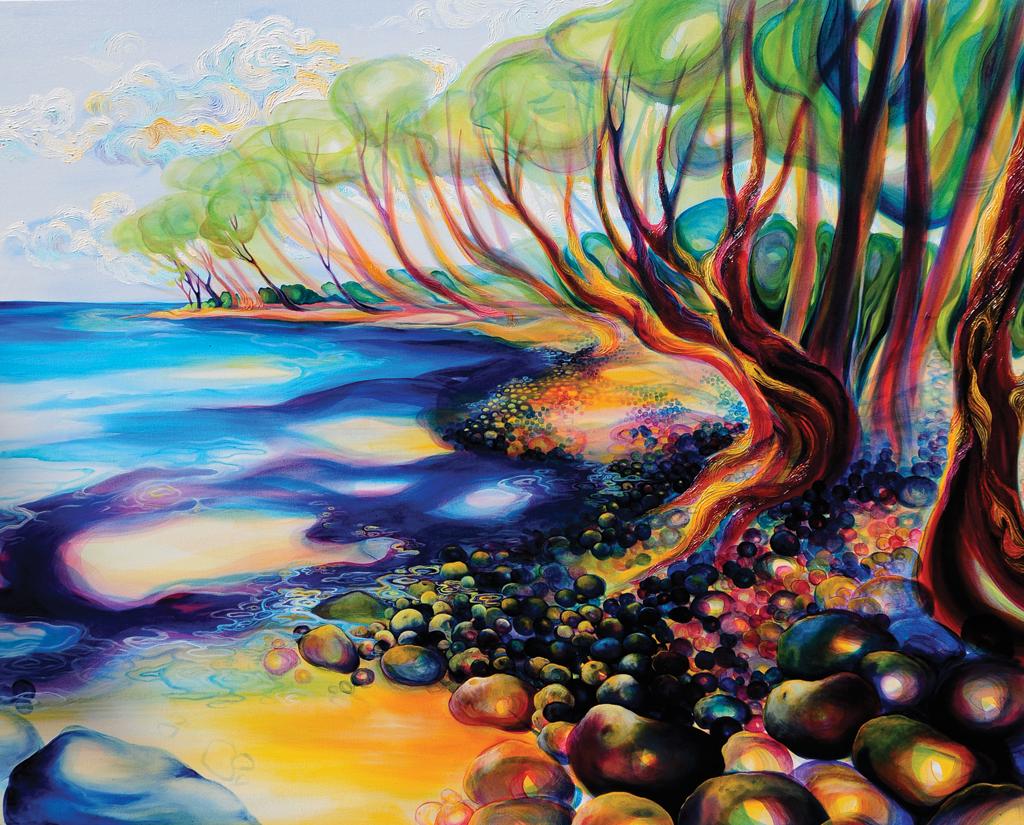 """""""Point Playa Guionoes"""" by Leah Van Rees"""