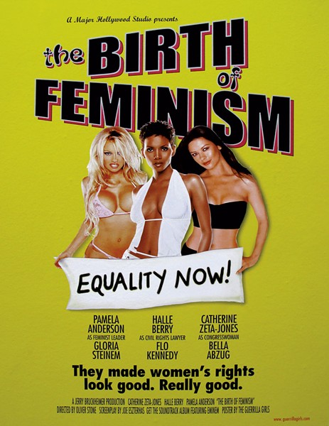Poster created by the Guerrilla Girls (2001) - COURTESY OF MIDDLEBURY COLLEGE MUSEUM OF ART
