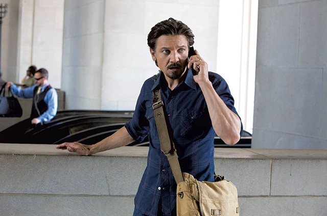 Press Under Pressure: Renner plays a reporter who pays dearly for the scoop of a lifetime in Cuesta's fact-based drama.