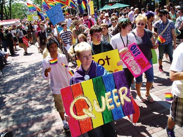 Pride Parade - MATTHEW THORSEN