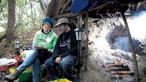 Probing Questions Assess Burlington's Homeless Population