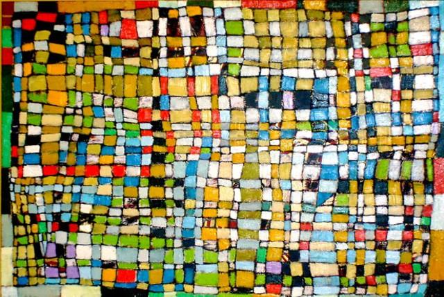 """""""Quilt Weave #5"""" by Clark Derbes"""