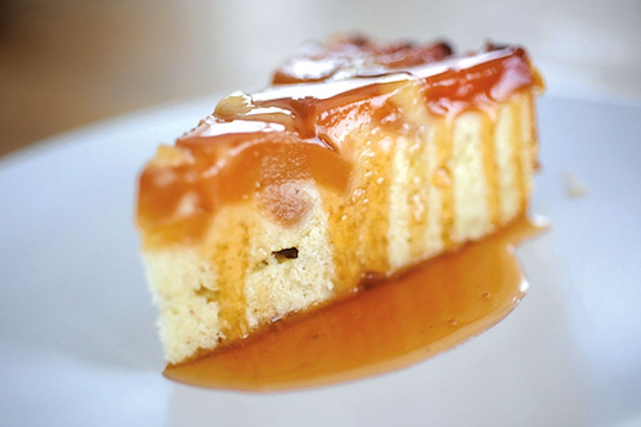 Quince cake from Seasons in a Vermont Vineyard - COURTESY OF SHELBURNE VINEYARD