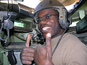 Rahsaan McLellan in Iraq