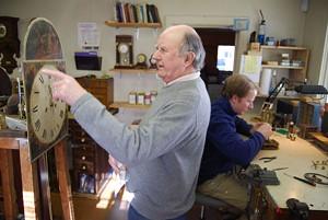 Ray Bates and his son Richard